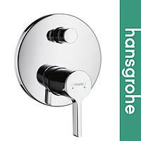 Смеситель Hansgrohe (art 31465000) для ванной встраиваемый Metris S