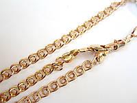 Набор цепочка+ браслет, плетение Лав 60 см. бр. 21 см. Mar