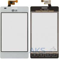 Сенсор (тачскрин) для LG Optimus L5 Dual E615 Original White