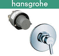 Комплект Hansgrohe (art 31764000) для душа FOCUS S встраиваемый скрытая и наружная части