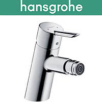 Смеситель Hansgrohe (art 31721000) для биде  FOCUS S с донным клапаном