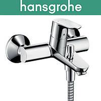 Смеситель Hansgrohe (art 31940000) для ванны короткий нос Focus