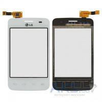 Сенсор (тачскрин) для LG Optimus L3 E435 White