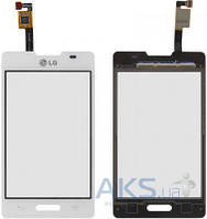 Сенсор (тачскрин) для LG Optimus L4 E440 Original White