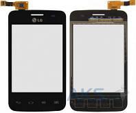 Сенсор (тачскрин) для LG Optimus L3 E435 Black