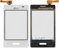 Сенсор (тачскрин) для LG Optimus L3 2 E425 Original White