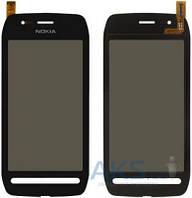 Сенсор (тачскрин) для Nokia 603 Original Black