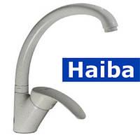Смеситель для кухни Ухо HAIBA MARS МС (молочный коктейль) (Chr-011)