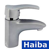 Смеситель для умывальника HAIBA FOCUS SATIN (Chr-001)