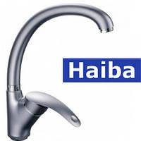 Смеситель для кухни Ухо HAIBA MARS SATIN (Chr-011)