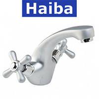 Смеситель для умывальника HAIBA DOMINOX SAITN (Chr-161)