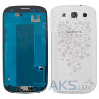 Корпус Samsung i9300 Galaxy S3 White La Fleur