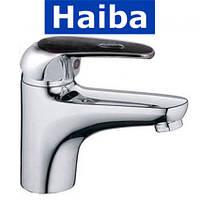 Смеситель для умывальника HAIBA MAGIC Black (Chr-001)
