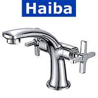 Смеситель для умывальника HAIBA OXFORD (Chr-001)