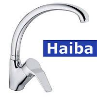 Смеситель для кухни Ухо HAIBA ZEON (Chr-011)