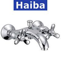 Смеситель для ванны короткий нос HAIBA VILTA (Chr-142)