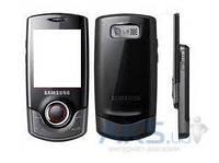 Корпус Samsung S3100 Black
