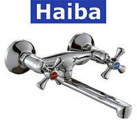 Смеситель для кухни от стены HAIBA SMES (Chr-361)