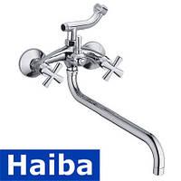 Смеситель для ванны длинный нос HAIBA SENTOSA (Chr-006)