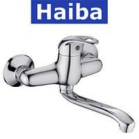 Смеситель для кухни от стены HAIBA PREMIERE (Chr-008)