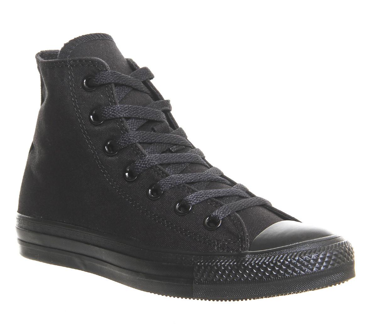 e7fc6f23 Кед Converse All Star High Black Monochrome (35-44р.) на любой вкус ...