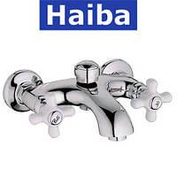 Смеситель для ванны короткий нос HAIBA ODYSSEY (Chr-142)