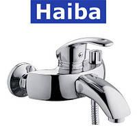 Смеситель для ванны короткий нос HAIBA MARS EURO (Chr-009)