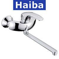 Смеситель для кухни от стены HAIBA Mars (Chr-008)