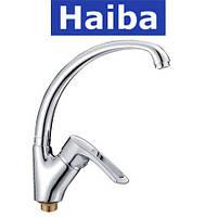 Смеситель для кухни Ухо на гайке HAIBA Hansberg (Chr-011)