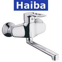 Смеситель для кухни от стены HAIBA HANSBERG (Chr-008)