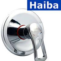 Смеситель для душа встроенный HAIBA HANSBERG (Chr-003-1)