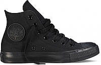 Кеды Converse All Star High Black Monochrome  (35-44р.)