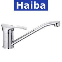 Смеситель для кухни елка на шпильке 25см HAIBA ERIS (Chr-004)