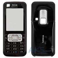 Корпус Nokia 6120c с клавиатурой, передняя и задняя панель Black