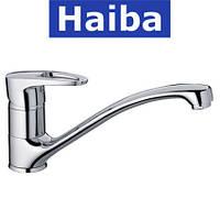 Смеситель для кухни елка литая HAIBA Ceba (Chr-012)
