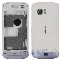 Корпус Nokia C5-03 White c серой накладкой