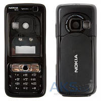 Корпус Nokia N73 с клавиатурой Black