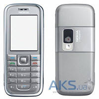 Корпус Nokia 6233 с клавиатурой Silver