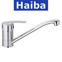 Смеситель для кухни елка на шпильке 25см HAIBA AGAT (Chr-004)