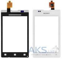 Сенсор (тачскрин) для Sony Xperia E C1503, Xperia E C1504, Xperia E C1505, Xperia E Dual C1604, Xperia E Dual C1605 White