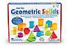 Набір геометричних фігур Learning Resources View-Thru Geometric Solids, фото 2
