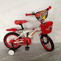 Детский велосипед Azimut Hunter 14 дюймов цвет красный
