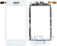 Сенсор (тачскрин) для Nokia X7-00 with frame Original White