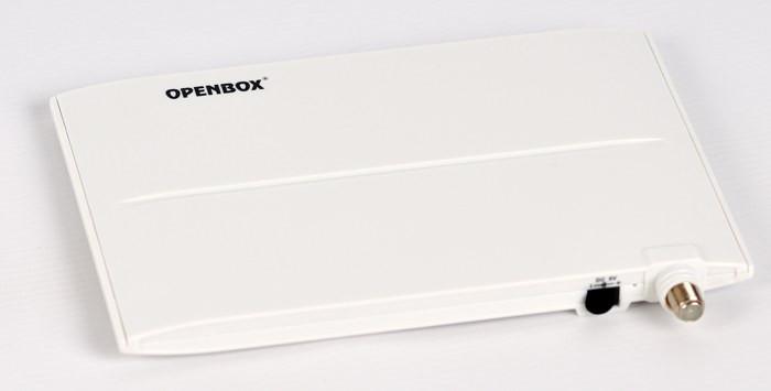 TV-антенна эфирная DVB-T/T2 Openbox AT-01' (Белая) активная комнатная