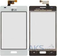Сенсор (тачскрин) для LG Optimus L5 E610, Optimus L5 E612 Original White
