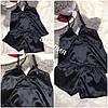 Женская Пижама с шортиками и бантиком на маечке