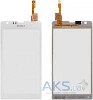 Сенсор (тачскрин) для Sony Xperia SP C5302 M35h, Xperia SP C5303 M35i Original White
