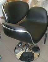 Кресло Студио с регулировкой высоты и наклона черная искусственная кожа