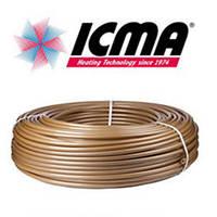 Труба для теплого пола с кислородным барьером ICMA FLOUR  d20х2 мм, Италия