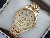 Очень красивые женские часы Rolex на металлическом браслете золотого цвета, фото 1